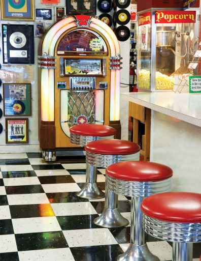 juke box malt shop